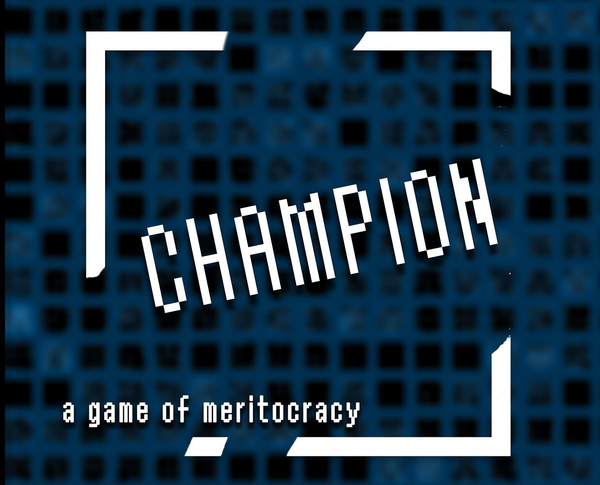 Re:Current Theatre Company 2018 performance of Champion poster
